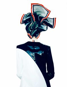 Aganovich, Comme des Garçons, and Thom Browne Spring 2015 Collections by Erik Madigan Heck