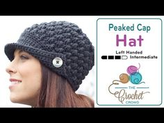 Crochet To The Peak Hat + Tutorial - The Crochet Crowd...PATTERN PRINTED OUT