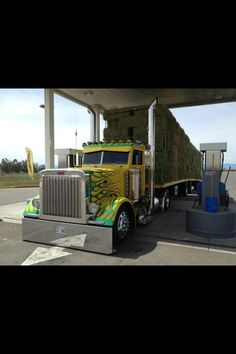 Maggini Peterbilt 379, Peterbilt Trucks, Show Trucks, Big Rig Trucks, Custom Big Rigs, Custom Trucks, Diesel Cars, Diesel Trucks, Heavy Construction Equipment