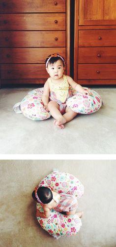 Boppy Slipcovered Infant Feeding &  Support Pillow