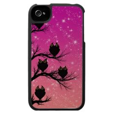Twilight Owls iPhone 4 Cover