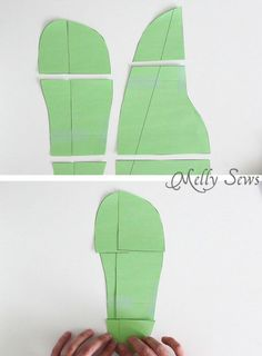 How to enlarge or shrink the pattern - Sew Slippers - a Free Pattern and Video Tutorial to make these DIY Slippers for Men, Women, or Kids - Melly Sews