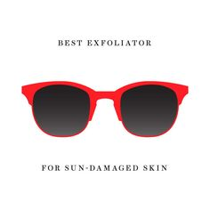 Best Exfoliator for Sun-Damaged Skin And if you have brown spots or discoloration from sun damage, an over-the-counter product won't make those go away, says David Colbert, M.D.,  hydrate your skin, and wait until you're healed to return to your normal exfoliating routine. No matter what skin type you have, don't forget the sunscreen! Our pick is Neutrogena Healthy Defense Daily Moisturizer With Broad Spectrum SPF 50, Sensitive Skin, $14, target.com.