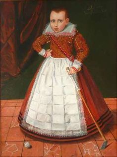 Unknown artist, Boy aged four and a half, 1613
