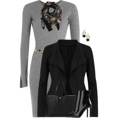 Donna Karan Jacket by houston555-396 on Polyvore featuring polyvore, fashion, style, Alexander Wang, Donna Karan, STELLA McCARTNEY, Tory Burch, Sophie Darling and Alessandra Rich