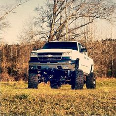 Is there anything better than a lifted Chev?