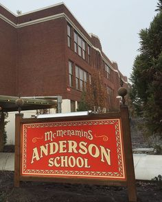 Fans of McMenamins are going to love the new family-friendly Anderson School Hotel in Bothell, Washington, just north-east of Seattle.