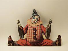 Vintage Clown Target by PeachStreetBridge on Etsy, $10.00
