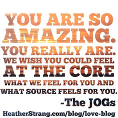 You are beautiful – A Channeled Message from The JOGs http://heatherstrang.com/blog/love-blog/