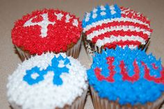 All sizes | 4th of July Cupcakes | Flickr - Photo Sharing!