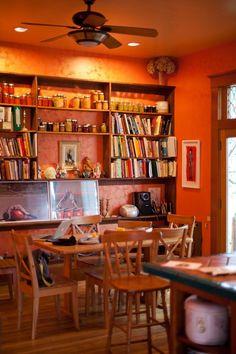 Lola's Homemade Orange Kitchen