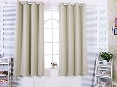 Elegant Home Fashions Insulated Blackout Window Panel Tripoli Premium, 63