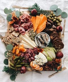 Fall Harvest Cheeseboard | Bev Cooks Charcuterie Recipes, Charcuterie Platter, Charcuterie And Cheese Board, Cheese Boards, Cheese Platters, Food Platters, Antipasto, Brunch, Fresh Figs