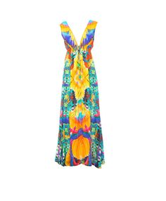CROCHET LONG MAXI DRESS -PARIDES