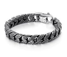 Luxury Unique Jewelry Wholesale Supplier from China Link Bracelets, Bracelets For Men, Bracelet Men, Bohemia Jewelry, Unique Jewelry, Jewelry Accessories, Anklet Jewelry, Men's Jewelry, Chains For Men