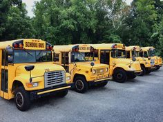 NC School Buses 1991-2007