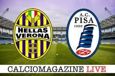 Verona-Pisa LIVE domenica 26 marzo dalle ore 12:30