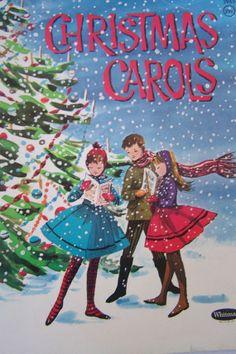 Singing along Christmas carols and waiting for Santa....memorable childhood days
