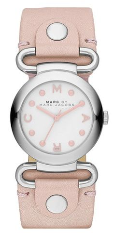 Marc by Marc Jacobs Small Molly Watch in Dusty Pink http://rstyle.me/n/fhmb2nyg6