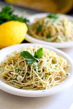 The best creamy avocado pasta ever ~ Eat Good 4 Life