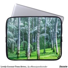Choose from a variety of Elegant laptop sleeves or make your own! Shop now for custom laptop sleeves & more! Tree Artwork, Custom Laptop, Best Laptops, Best Sites, Personalized Products, Laptop Sleeves, Coconut, Trees, Collection