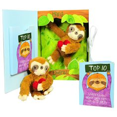 Buy Get Well Gifts - Feel Like a Sloth? Hang in There! Get Well Soon Gift for Women, Kids, Men, Teens. Plush Sloth and Top 10 Things to Do When You Feel Like a Sloth in Gift Box. Great for After Surgery. Gifts For Kids, Gifts For Women, Surgery Gift, Get Well Soon Gifts, Cute Stuffed Animals, Cute Plush, Animal Pillows, Thoughtful Gifts, How Are You Feeling