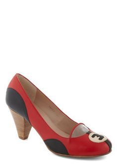 Rally and Truly Heel, #ModCloth