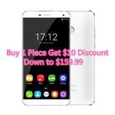"Oukitel U11 Plus 1920x1080 5.7""FHD Octa Core smartphone 4GB RAM 64GB ROM MTK6750T Android 7.0 13.0MP Fingerprint mobile phone"