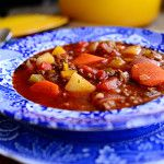Easy, delicious and healthy Hamburger Soup recipe from SparkRecipes. See our top-rated recipes for Hamburger Soup. Beef Recipes, Soup Recipes, Dinner Recipes, Cooking Recipes, Pioneer Woman Hamburger Soup, Hamburger Stew, Pioneer Woman Recipes, Pioneer Women, Le Diner