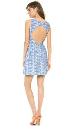 alice + olivia Lillyanne Puff Skirt Dress