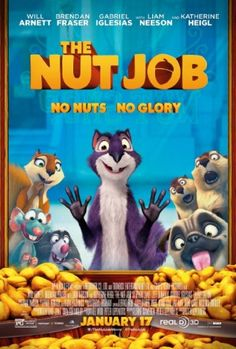An incorrigibly self-serving exiled squirrel finds himself helping his former park brethren raid a nut store to survive, that is also the front for a human gang's bank robbery.