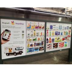 Looks like VIRTUAL GROCERY STORES will be popping up at lots of subway stations, train platforms and bus shelters very soon!!!