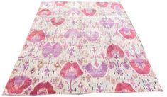 Indian Sari Silk Ikat | London House Rugs