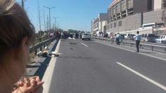 İstanbul'da feci kaza: 1 polis şehit oldu