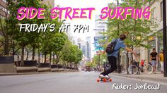 Join the movement. Ride with the #SideStreetSurfing crew every Friday at 7pm through #Toronto open to all level riders! #TorontoLongboarding #LongboardToronto #YongeStreet @yongestreetstories @ser_jordan