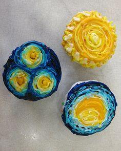 starry starry night cakes-cupcakes