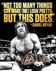 This is awesome! Daniel Bryan!  Usana Malaysia Health Benefits.  http://associatemy.blogspot.com/