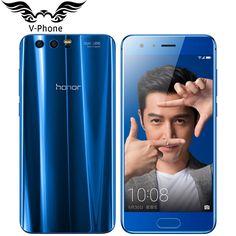 Original Huawei Honor 9 4G LTE Mobile Phone 5.15inch Kirin 960 Octa Core 4GB RAM 64GB ROM 1920*1080 Dual Rear Camera NFC phone   #Affiliate