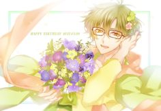 Yayoi Haru Cute Anime Boy, Anime Guys, Tsukiuta The Animation, Picture Boards, Yayoi, Manga, Pictures, Twitter, Boys