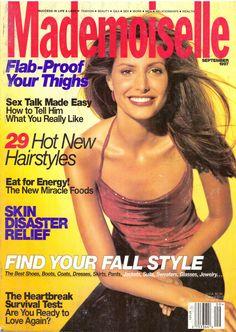 Mademoiselle Magazine Back Issues Eat For Energy, New Energy, Vintage Magazines, Vintage Ads, Mademoiselle Magazine, Kirsty Hume, Glamour Magazine, Vogue, Christy Turlington