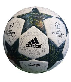 UEFA Adidas Champions League Thermal Bonded A+ Soccer Match Ball 2017 18   Adidas bbb9d9d99fb94