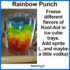 Rainbow Punch for Birthday! Rainbow Punch for Birthday! Trolls Birthday Party, Troll Party, Unicorn Birthday Parties, Birthday Fun, First Birthday Parties, Birthday Party Themes, Birthday Ideas, Third Birthday, Summer Bday Party Ideas