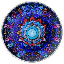 Lotus Mind Mandala Porcelain Plate