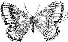 Tejido: metamorfosis, cambio Diseño para encaje de bolillos de Iva Proskova