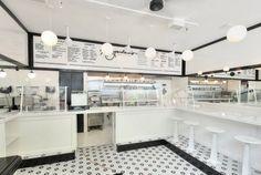 """Képtalálat a következőre: """"gelato interior design b&w"""""""