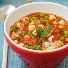 Soupe minestrone | Sympatico.ca Viteunerecette.ca