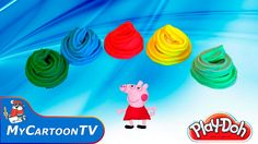 Peppa Pig Play Doh Surprise Eggs YOOHOO and FRIENDS Toys