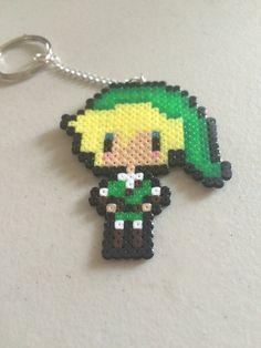Link Legend of Zelda Keychain by YattaCreations on Etsy