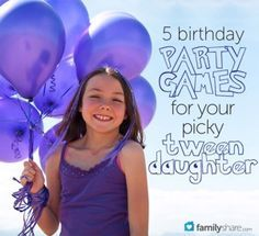 5 birthday party games for your picky tween daughter Tween Party Games, Sleepover Party, Spa Party, Party Activities, Slumber Parties, Sleepover Activities, Party Fun, 10th Birthday Parties, Birthday Party Games