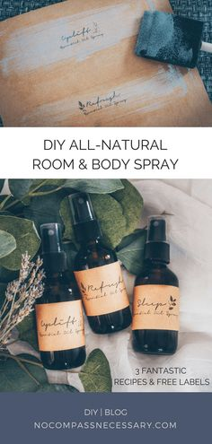 DIY All-Natural Room Sprays, Diy And Crafts, All-natural DIY essential oil room and body spray! Diy Beauty Room, Makeup Beauty Room, Makeup Rooms, Essential Oils Room Spray, Essential Oil Blends, Herbal Remedies, Natural Remedies, Body Spray, Herbalism